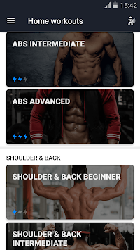 Home Workout - No Equipment APK screenshot thumbnail 2