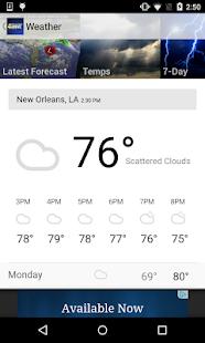 WWL-TV New Orleans News- screenshot thumbnail