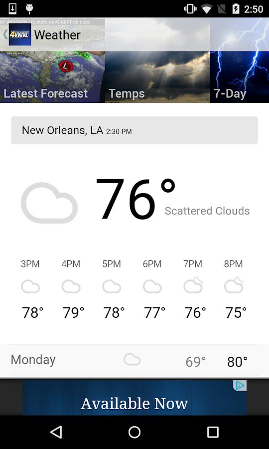WWL-TV New Orleans News- screenshot