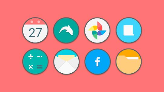 Flat Circle – Icon Pack 2