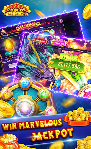 Gold Storm Casino - Asian Fishing Arcade Carnival 1.0.54 screenshots 5