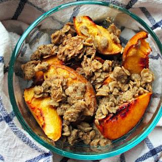 4-Ingredient Peach Cobbler.