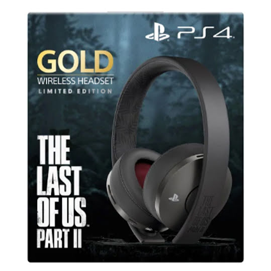 Gold Headset Limited Edition - The Last of Us Part II (PS4)