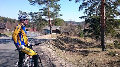 Photo: Юра на велотренировке