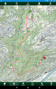 SityTrail Switzerland - hiking- screenshot thumbnail