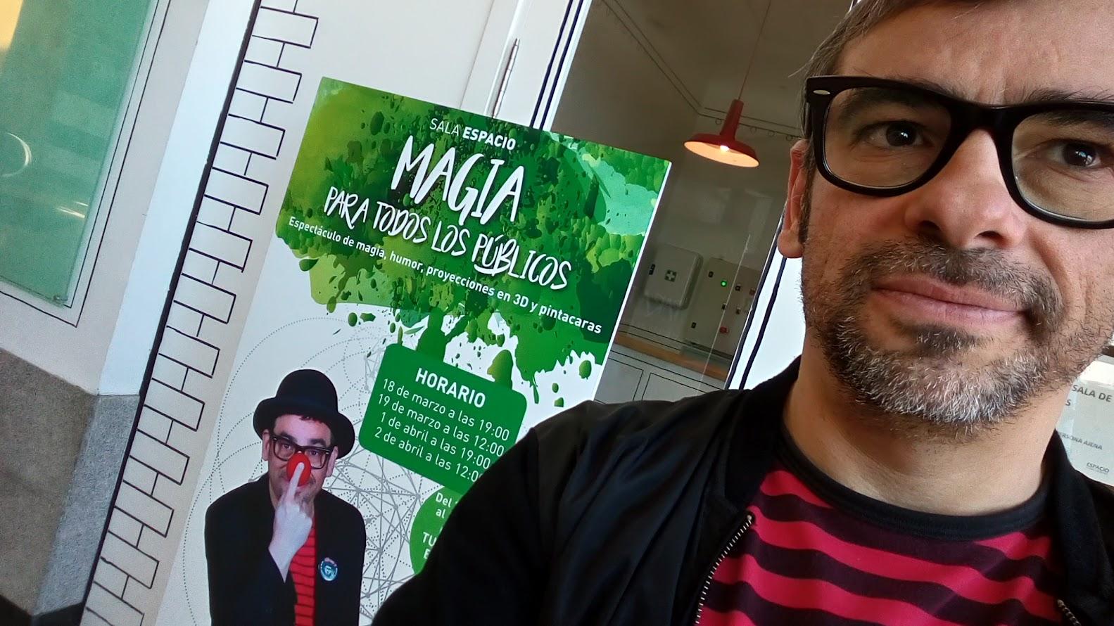 cartel magia para todos los públicos sala espacio torrelodones Alfonso V