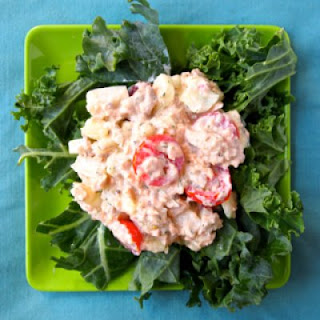 Simple Seafood Salad for One