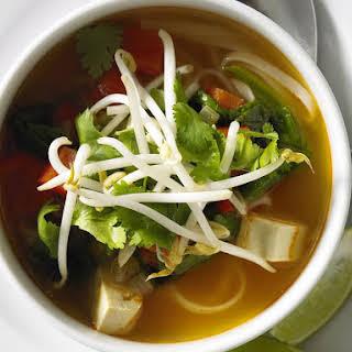 Tom Yum Noodle Soup.