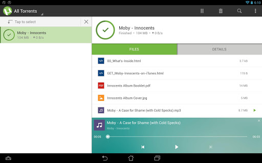 µTorrent®- Torrent Downloader screenshot 10