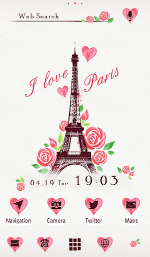 I Love Paris Wallpaper 1.0.0 Windows u7528 1