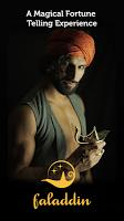 screenshot of Faladdin - Fortune Teller, Tarot, Astrology