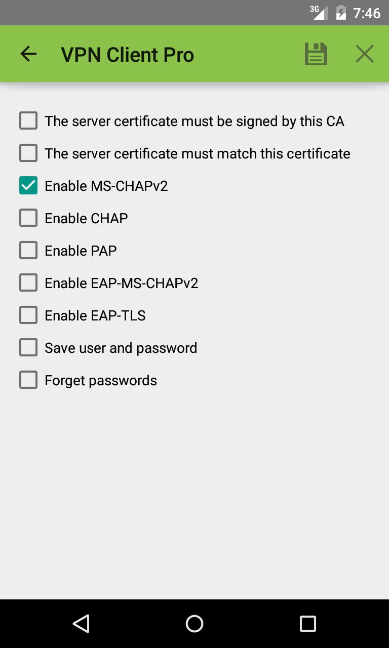 VPN Client Pro Screenshot 5
