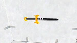 Pure Gold dagger