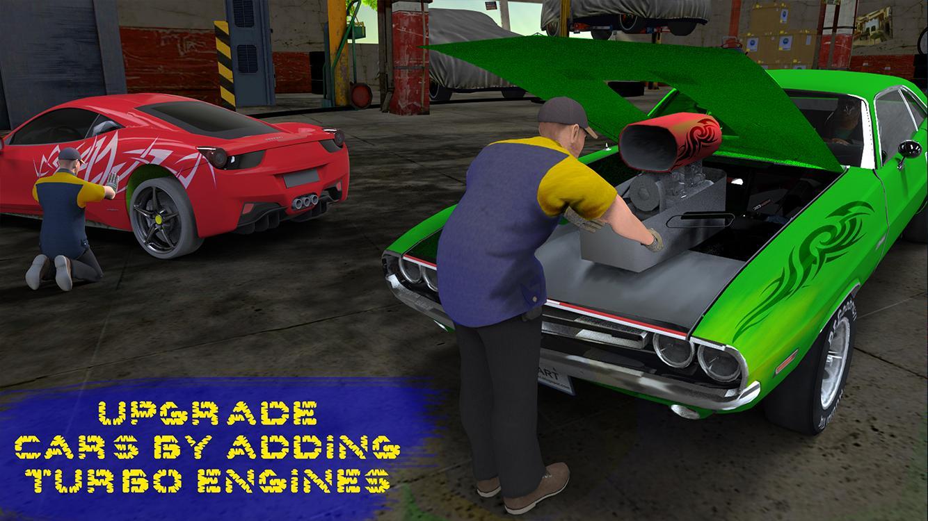 Design car repair workshop - Luxury Car Mechanic Workshop Screenshot