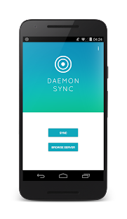 DAEMON Sync: Offline backup Screenshot