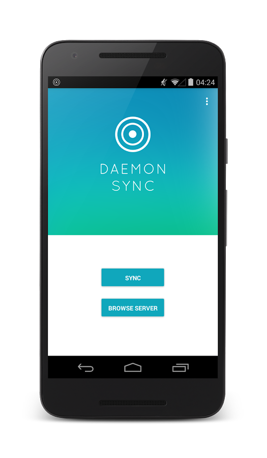DAEMON Sync: Offline backup- screenshot