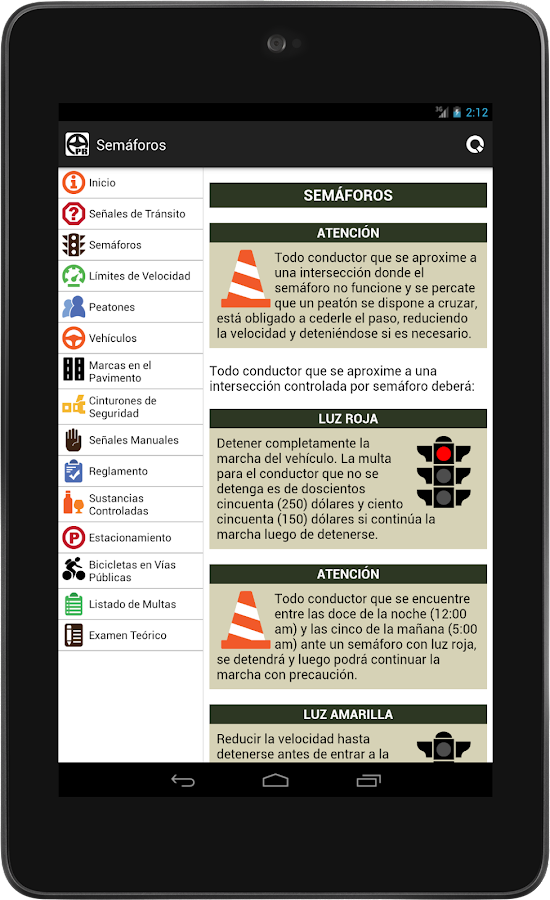 Conductor pr lic aprendizaje android apps on google play