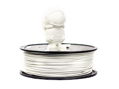 White MH Build Series PETG Filament - 2.85mm (1kg)