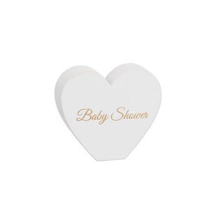 """Stående hjärta """"Baby Shower"""""""