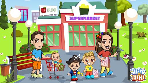 Vlad & Niki Supermarket game for Kids screenshots 9