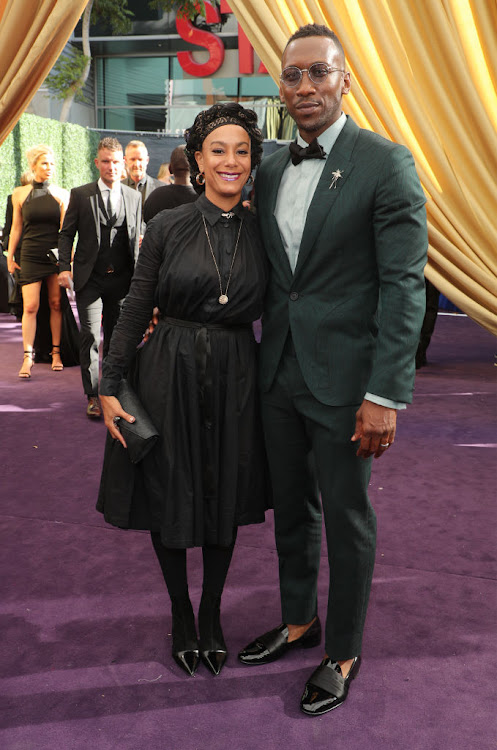 Actor Mahershala Ali, with Amatus Sami-Karim, at the 2019 Emmy Awards.
