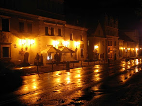 Photo: Urok Kazmierza nocą