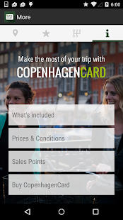 Copenhagen Card City Guide- screenshot thumbnail