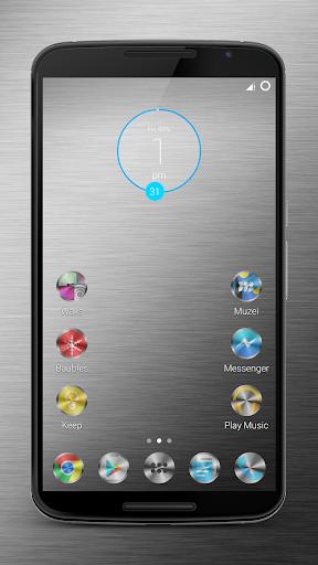 Metallicon icon theme
