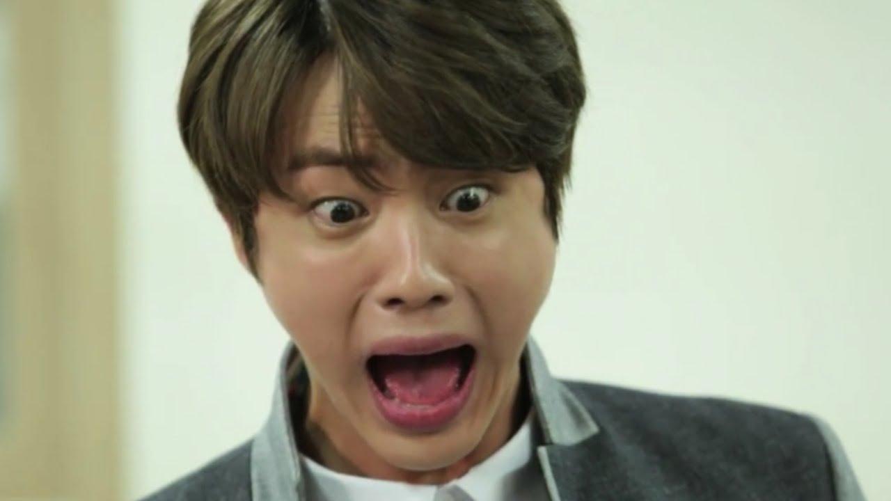 jin scream meme