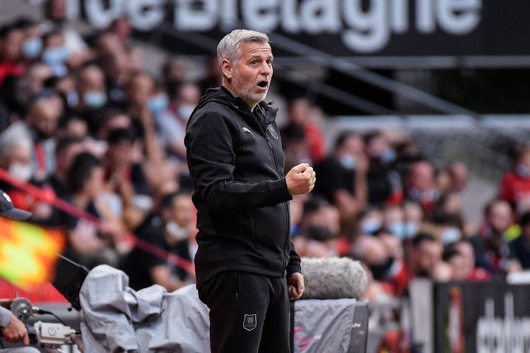Bruno Genesio frustré après le match contre Tottenham