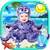 Cute Baby Photo Montage App 👶 Costume for Kids