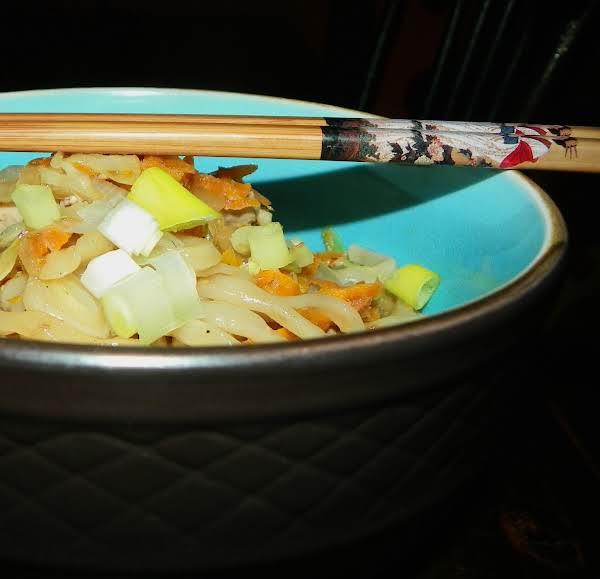 Yakisoba Noodle Bowl With Shrimp