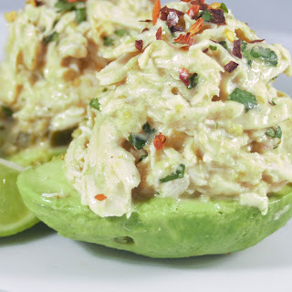 Chicken Avocado Salad.