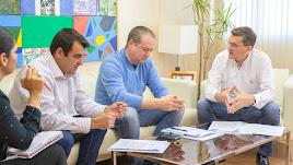 Reunión de Coag y Upa con el secretario provincial del PSOE
