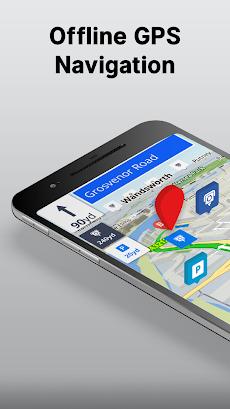 Offline Maps & Navigationのおすすめ画像1