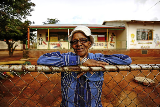 Dijelwane Mathopa who taught at the creche that she and Winnie established in Brandfort.