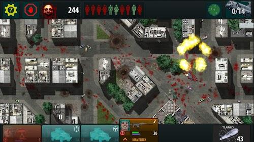 Screenshot 1 War of the Zombie 1.3.77 APK+DATA MOD