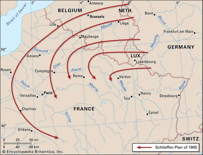 Sejarah Tahap Awal Perang Dunia I