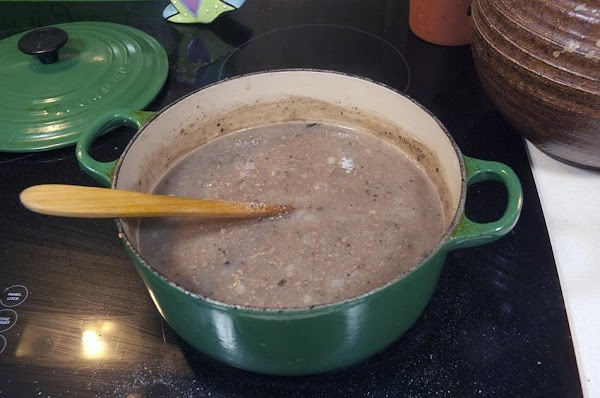 Simmer for 30 minutes, or until nice and thick.