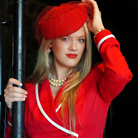 by Diana Cantey - People Fashion ( red hats, diana cantey sr. photography )
