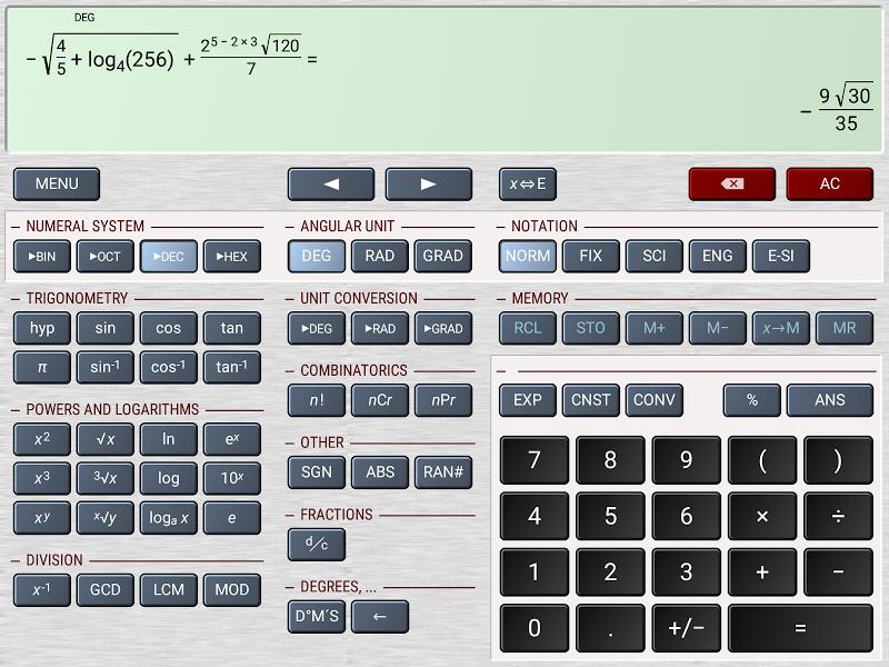 HiPER Calc Pro Screenshot 10