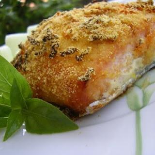 Fresh Salmon with a crispy top