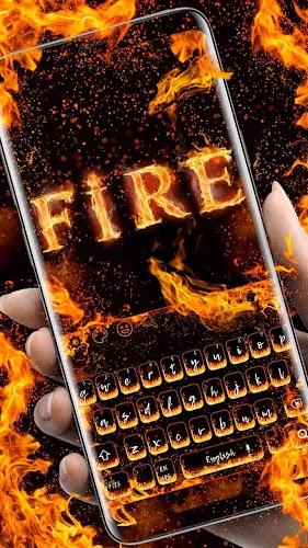 Indir Yanan Ateş Klavyesi Apk Son Sürüm App Android Cihazlar Için