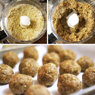 Date Energy Balls (Vegan, Paleo) Recipe