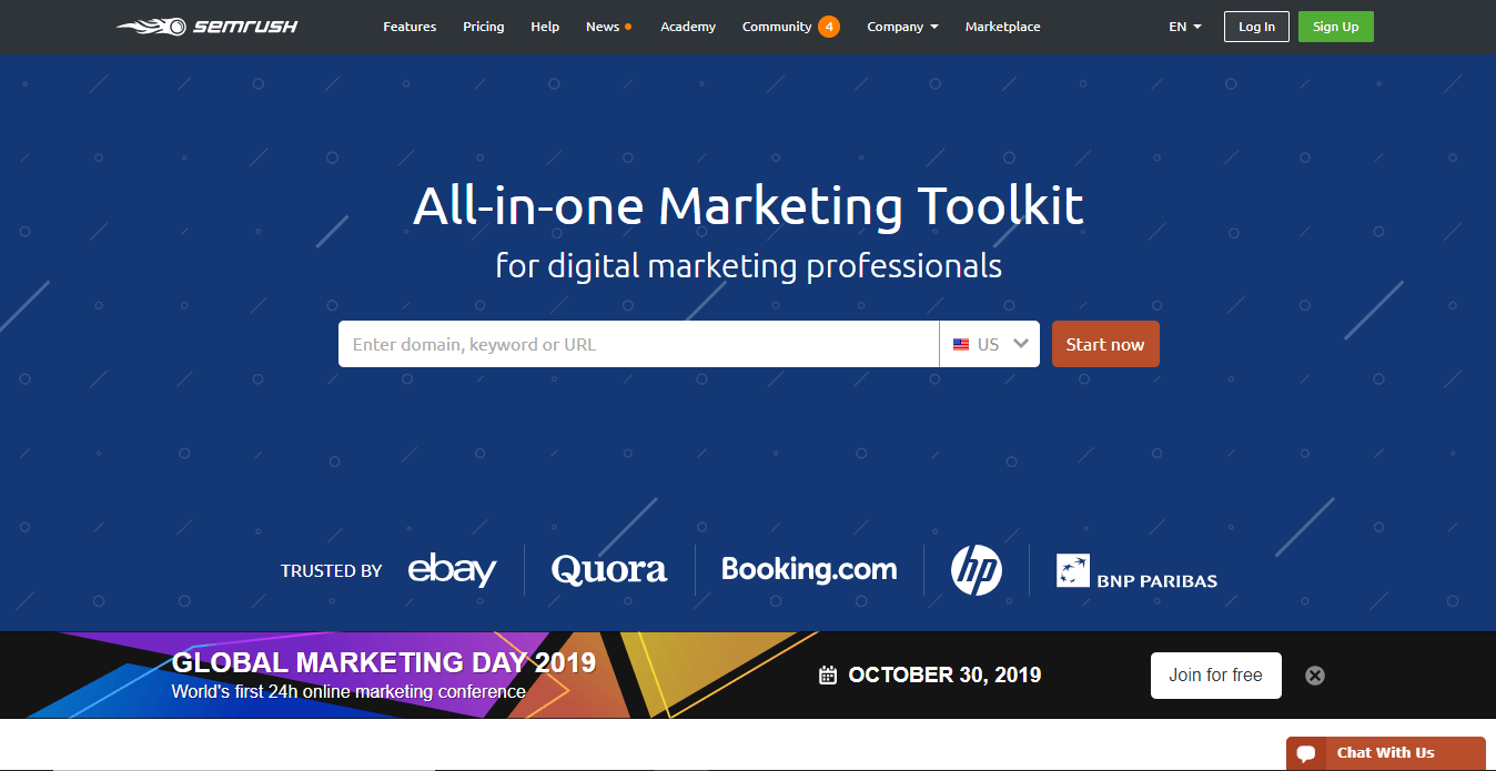 semrush marketing tools