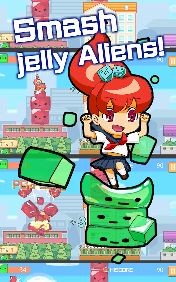 Jelly Smash Heroes- screenshot