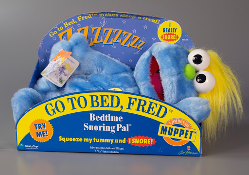 Stuffed animal:Go to Bed, Fred