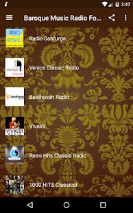 Barokní Hudba Rádio - náhled