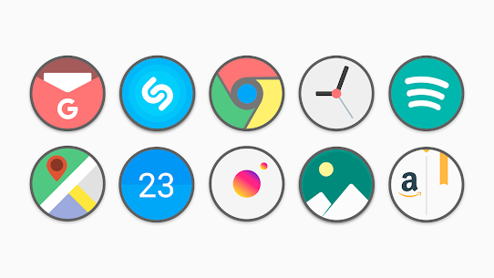 Flat Circle – Icon Pack 1