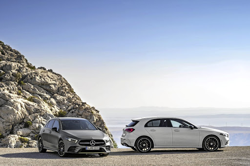 Mercedes-Benz's new-generation A-Class premium hatchback is both larger and sleeker looking.